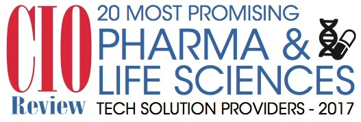 CIOReview 20 Most Promising Pharma & Life Sciences Tech Solution Providers 2017