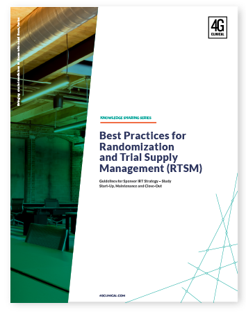 Best Practices for Randomization and Trial Supply Management (RTSM)