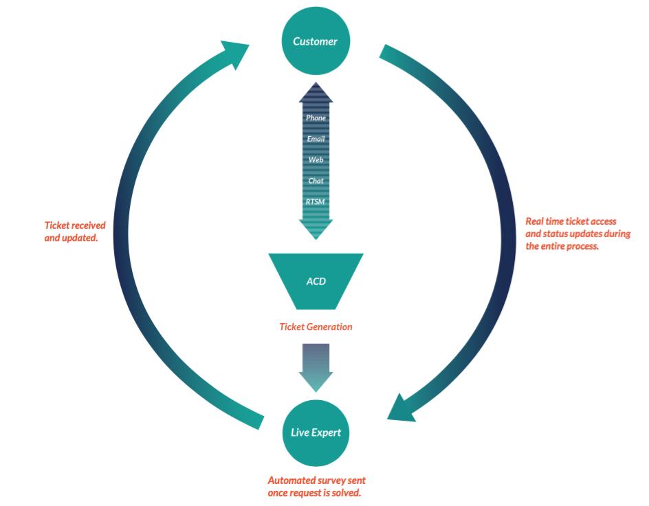 New Paradigm RTSM Customer Support Model
