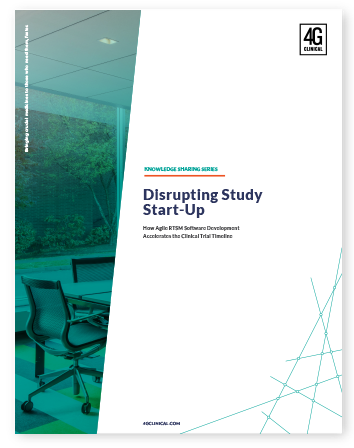 Disrupting Study Start-Up
