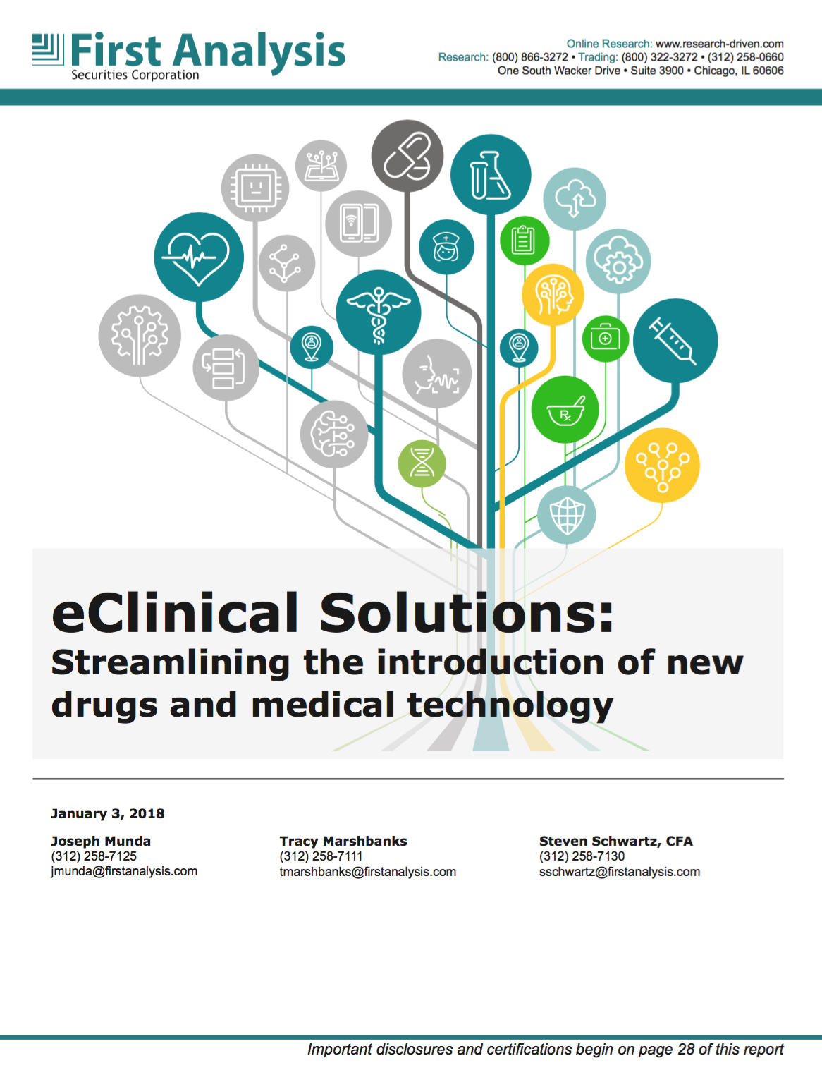 eClinical Solutions Report on RTSM, EDC, CTMS, eCOA
