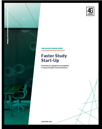 Disrupting Study Start-Up
