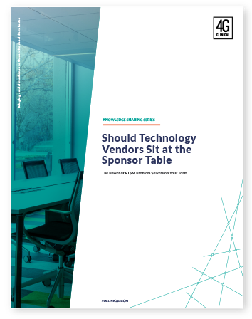 Should Technology Vendors Sit at the Sponsor Table?