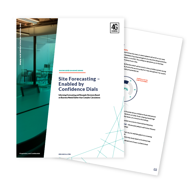 Site Forecasting – Enabled by Confidence Dials white paper