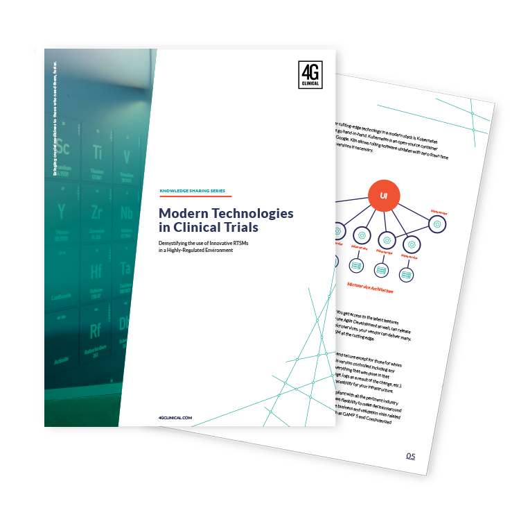 Modern Technologies in Clinical Trials white paper