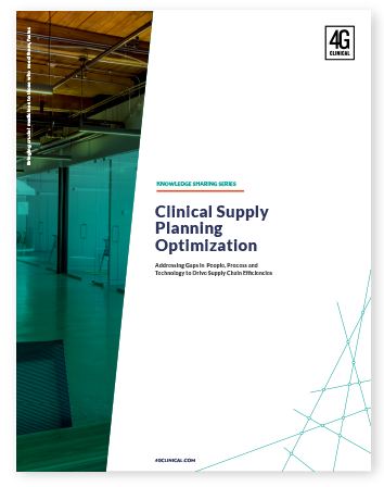 Clinical Supply  Planning Optimization